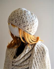 Lazy Day Hat and Scarf for Women, knit-d1-jpg