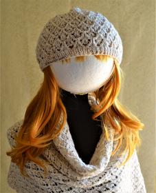 Lazy Day Hat and Scarf for Women, knit-d2-jpg