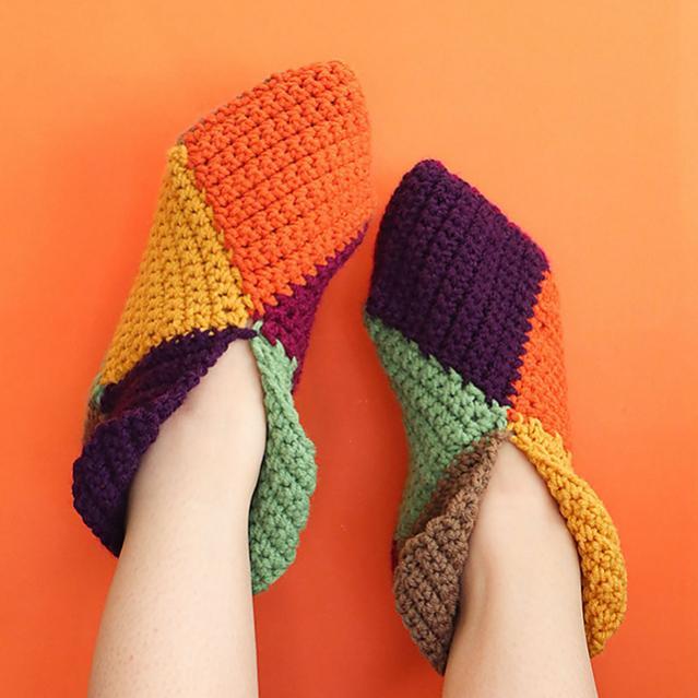 Harlequin Slippers for Women, average size-c1-jpg