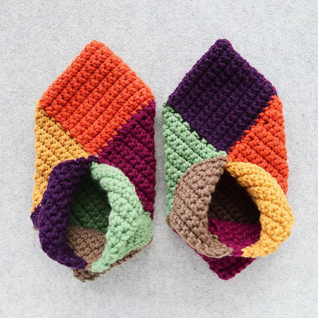 Harlequin Slippers for Women, average size-c2-jpg