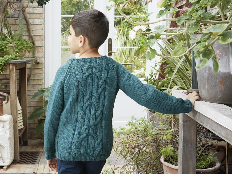 Florian Pullover for Children, 4-12 yrs, knit-b2-jpg