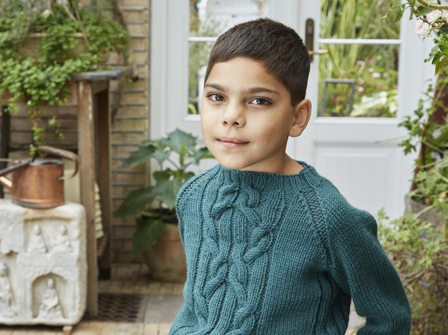 Florian Pullover for Children, 4-12 yrs, knit-b3-jpg