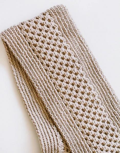 Honey Stitch Cowl for Women, knit-f4-jpg