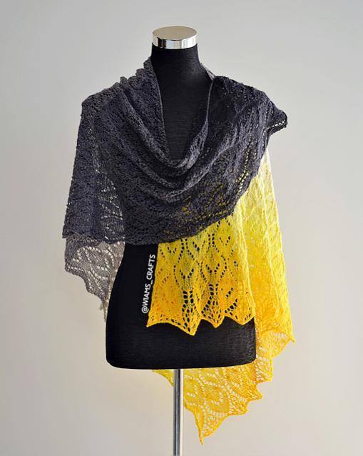 Wrap Me in Sunshine Shawl, knit-d4-jpg