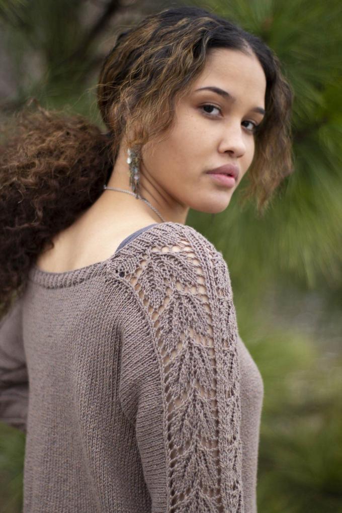 """Beechnut Pullover for Women, 32  1/2"""" to 64 1/2"""", knit-e1-jpg"""