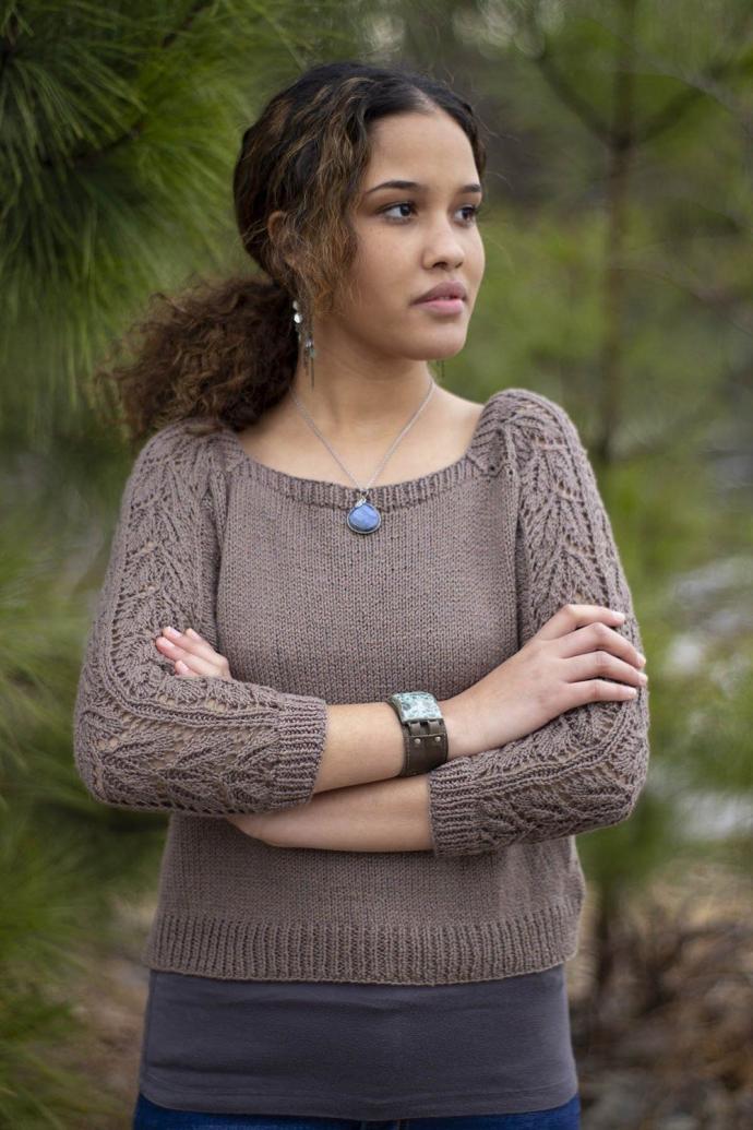 """Beechnut Pullover for Women, 32  1/2"""" to 64 1/2"""", knit-e2-jpg"""