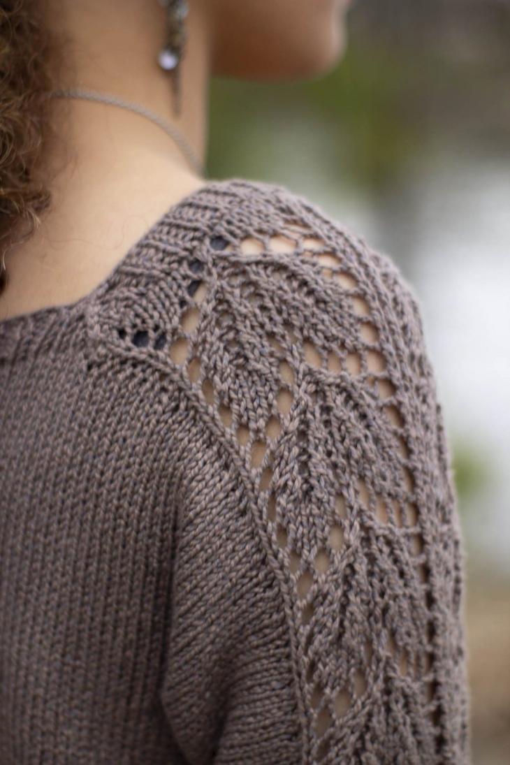 """Beechnut Pullover for Women, 32  1/2"""" to 64 1/2"""", knit-e3-jpg"""