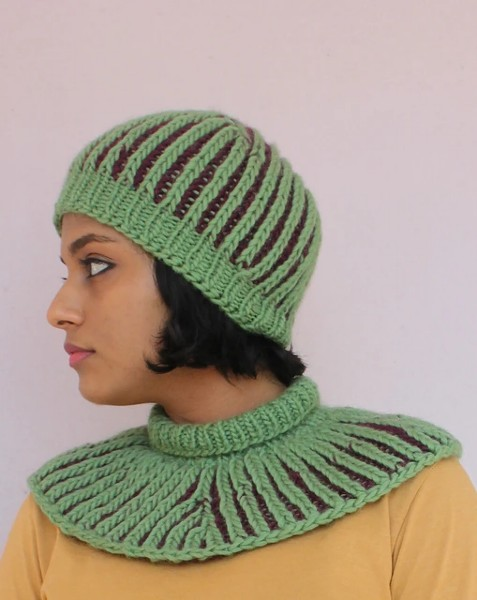 Unbrioched Hat and Cowl for Women, knit-f3-jpg