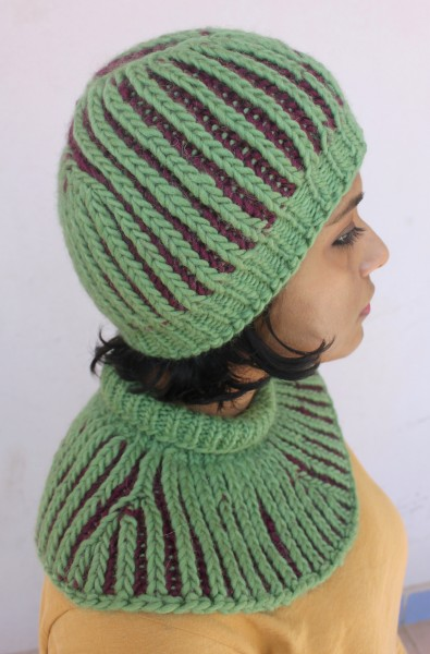 Unbrioched Hat and Cowl for Women, knit-f4-jpg