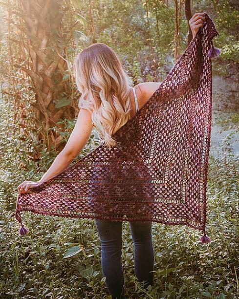 Picot Crochet Shawl for Women, ad-fee PDF free for a limited time on blog-b1-jpg
