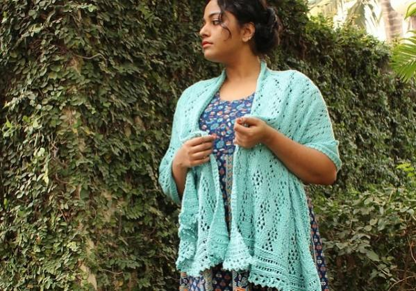 A Time of Rain Shawl, knit-e2-jpg