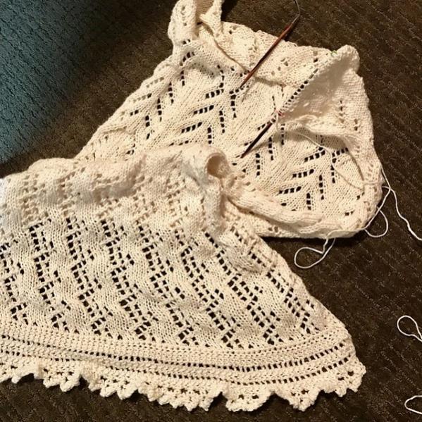 A Time of Rain Shawl, knit-e4-jpg