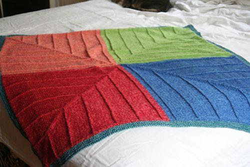 Four Corners Baby Blanket, knit-d2-jpg