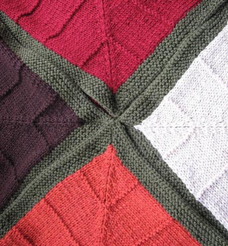 Four Corners Baby Blanket, knit-d4-jpg