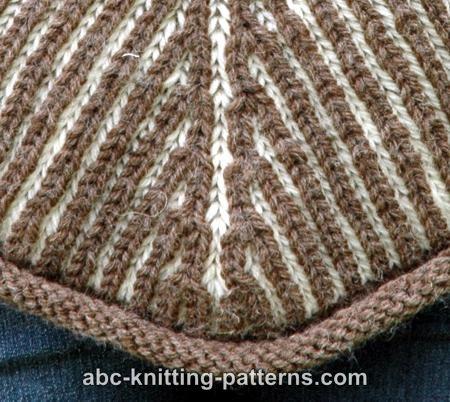 Reversible Brioche Poncho for Women, S-3X, knit-r3-jpg