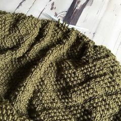 Diamond of Virgo Blanket, knit-a3-jpg