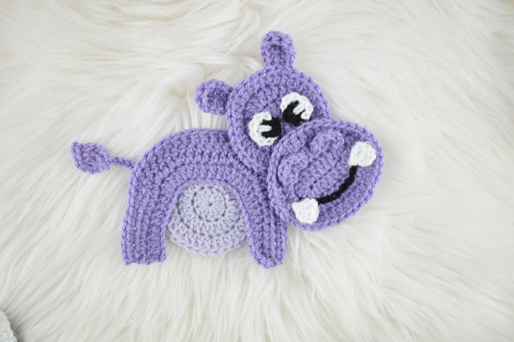 Jungle Animal Baby Blanket-a9-jpg