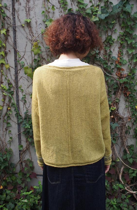 Hakobe Cardigan for Women, XS-5X, knit-a2-jpg