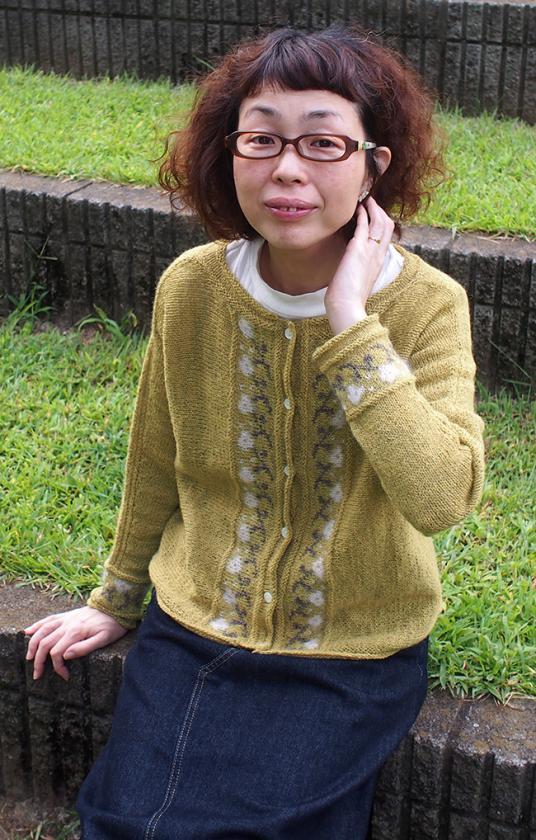 Hakobe Cardigan for Women, XS-5X, knit-a4-jpg