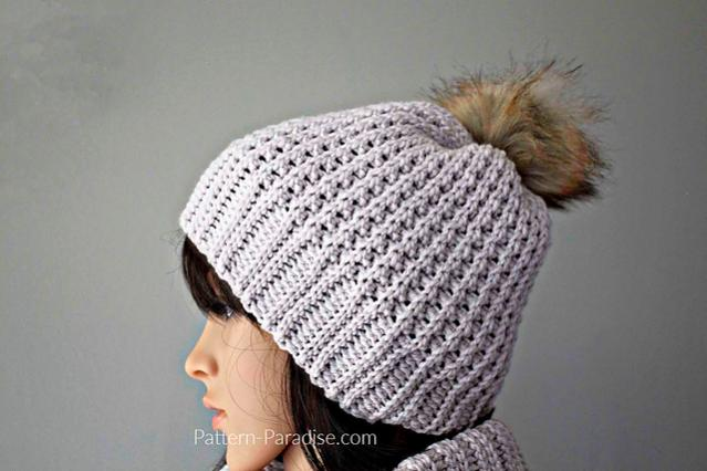 Mimi Hat and Cowl for Women-r2-jpg