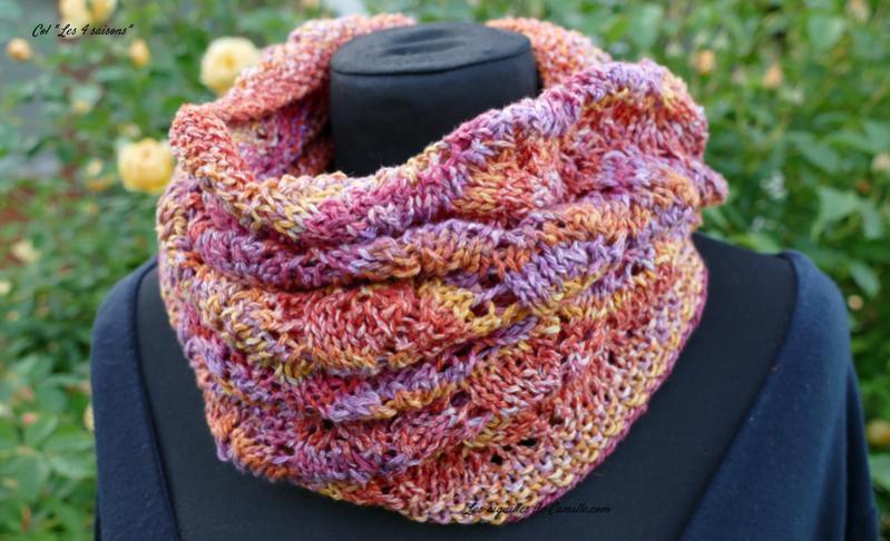 Four Seasons Cowl for Women, knit-d2-jpg