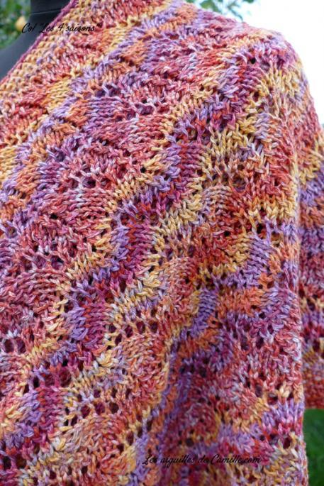 Four Seasons Cowl for Women, knit-d4-jpg