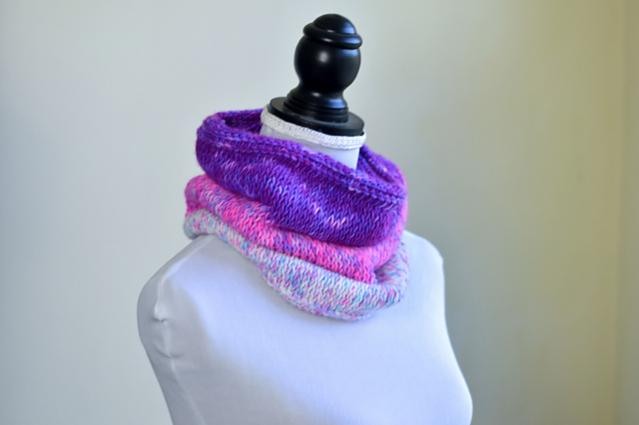 Beginner Tunisian Cowl for Women-s2-jpg