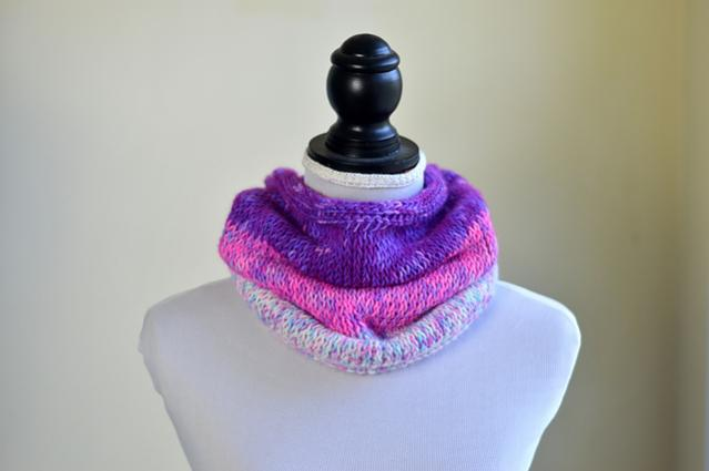 Beginner Tunisian Cowl for Women-s3-jpg
