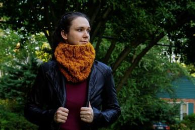 Selciato Cowl for Women, knit-z1-jpg