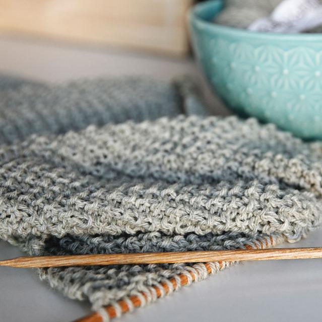 Classic Knit Blanket Scarf, knit-a2-jpg