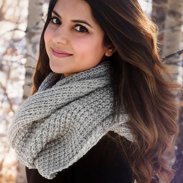 Classic Knit Blanket Scarf, knit-a3-jpg