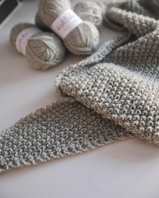 Classic Knit Blanket Scarf, knit-a4-jpg