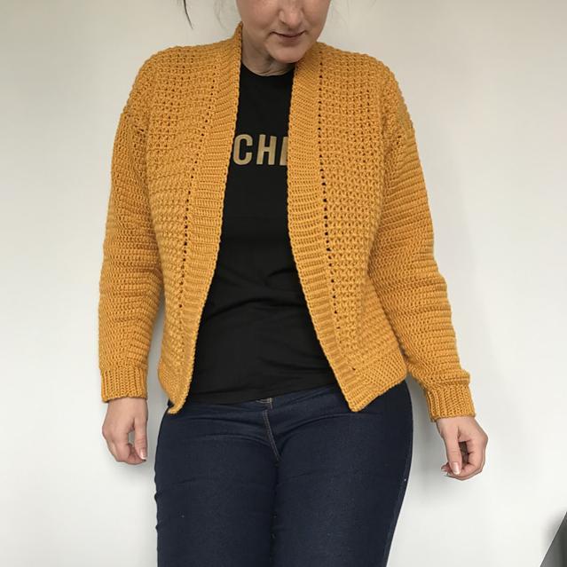 Working Girl Cardigan for Women, XS-5XL-w1-jpg