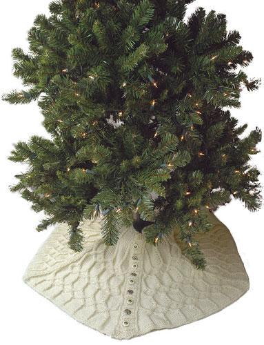 Silent Night Tree Skirt-s1-jpg