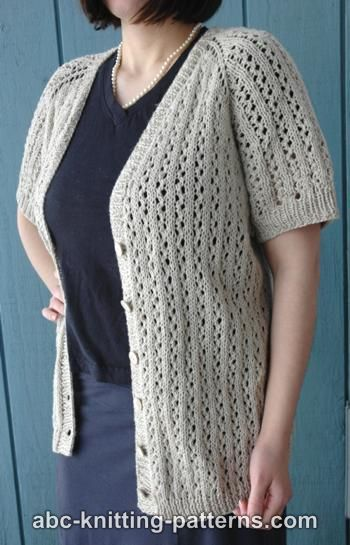 "Top-Down Raglan Summer Lace Cardigan for Women, 36""-56"", knif-s1-jpg"