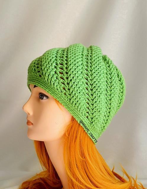 Swirl Wave Hat for Toddler to Adult-e1-jpg