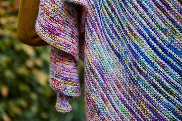 Fading Stripes Shawl, knit-s2-jpg