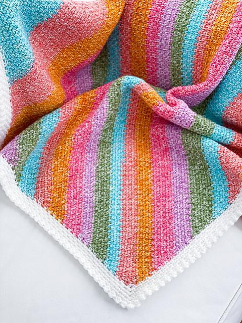 Sherbet Baby Blanket-e2-jpg