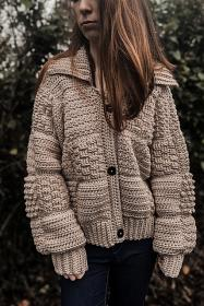 Patchwork  Winter Cardigan for Women, S-3XL-q1-jpg