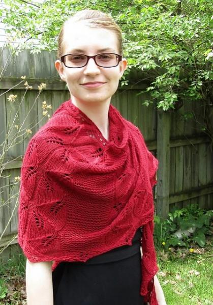Somebody Told Me Shawl, knit-a1-jpg