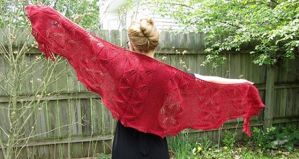 Somebody Told Me Shawl, knit-a2-jpg