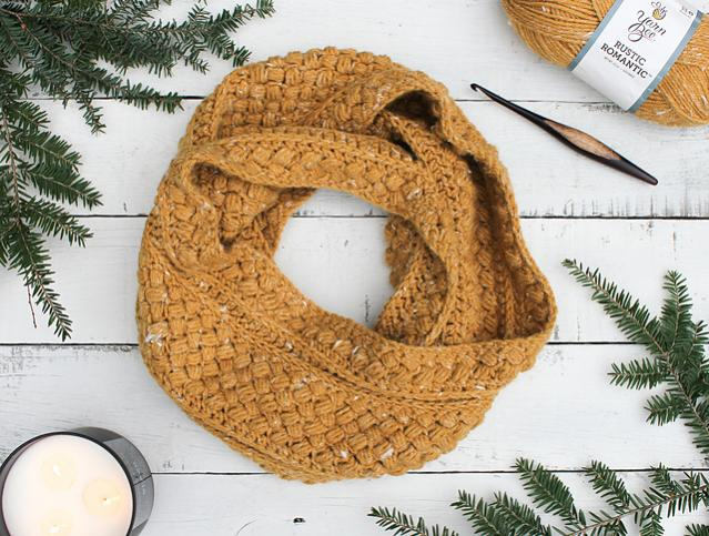 Mustard Puff Infinity Cowl for Adults-q1-jpg