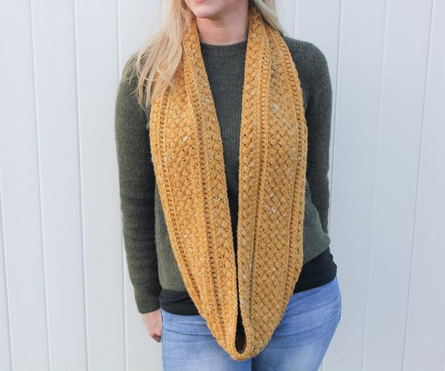 Mustard Puff Infinity Cowl for Adults-q3-jpg