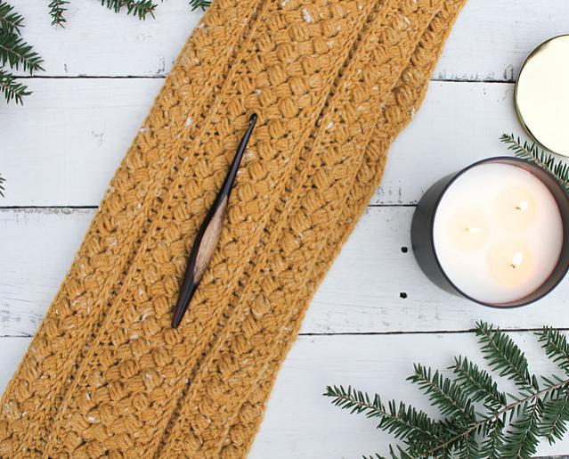 Mustard Puff Infinity Cowl for Adults-q4-jpg