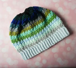 Ocean Fade Hat and Scarf for Adults-e1-jpg