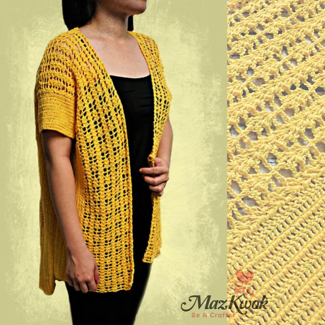Sunny Lace Cardi for Women, XL only-d1-jpg