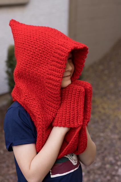 Hinterlands Hooded Pocket Scarf for Toddler to Adult-e1-jpg
