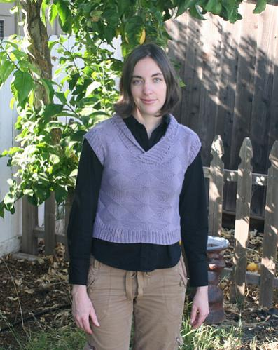 "Textured Argyle and Diamond Vest, 28.5"" to 53.25"", knit-d2-jpg"