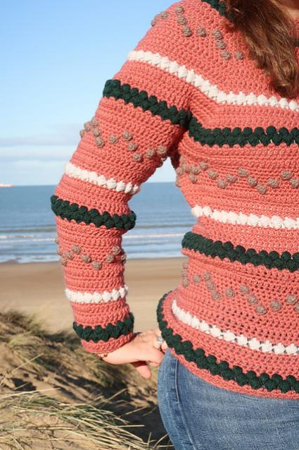 Beads and Bobbles Sweater for Women, XS-5XL-w2-jpg