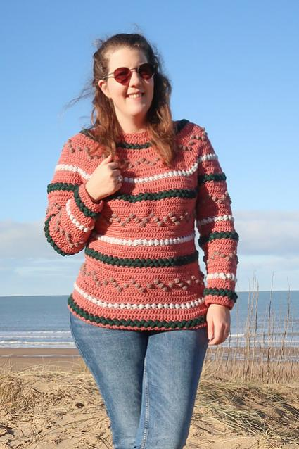 Beads and Bobbles Sweater for Women, XS-5XL-w4-jpg